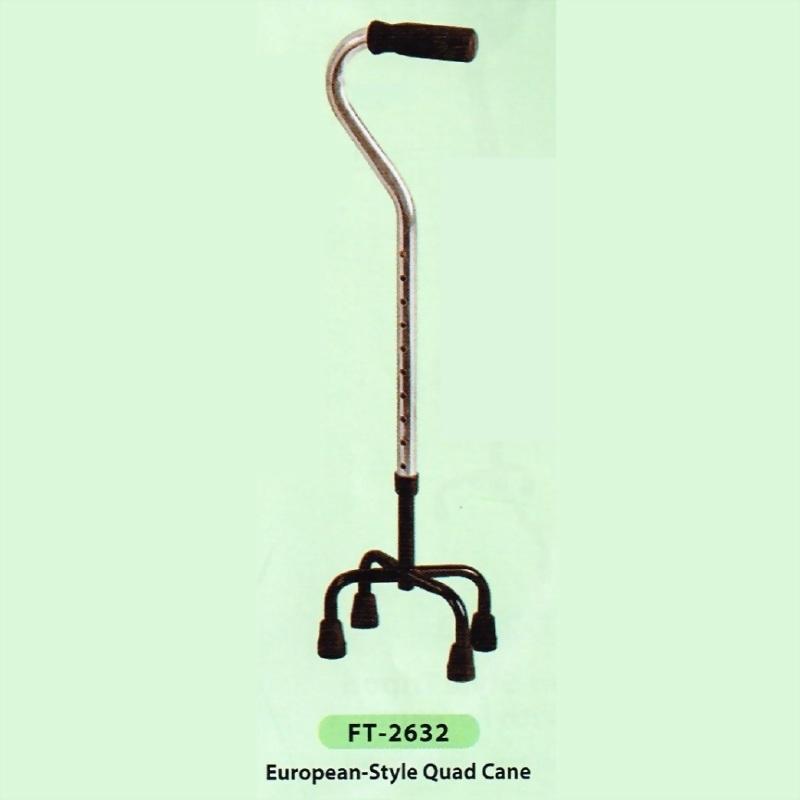 European-Style Quad Cane