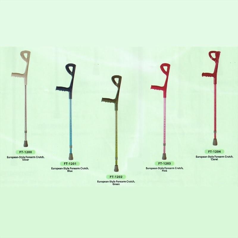 European-Style Forearm Crutches