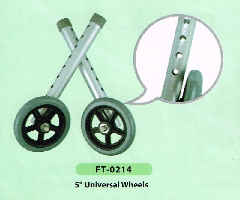 5'' Universal Wheels