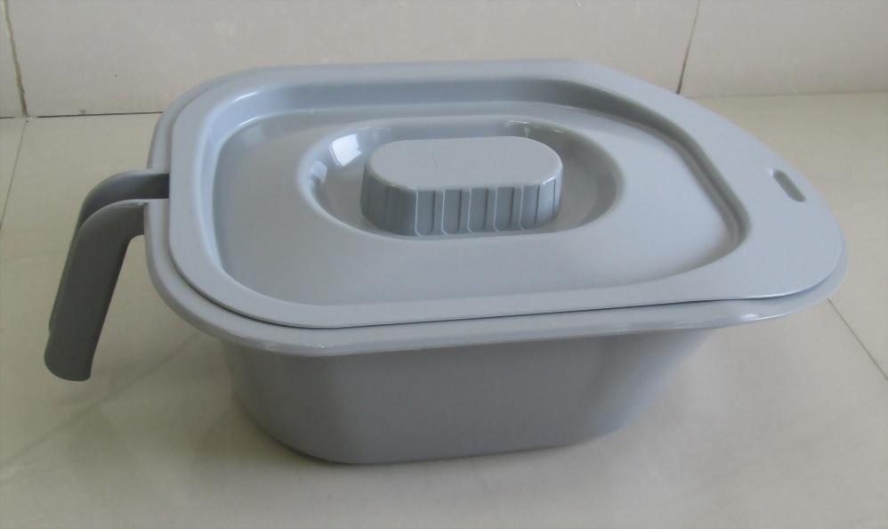 Plastic Toilet (Extra Large Retangle Type)