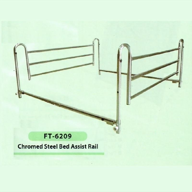 Chromed Steel Bed Assist Rail