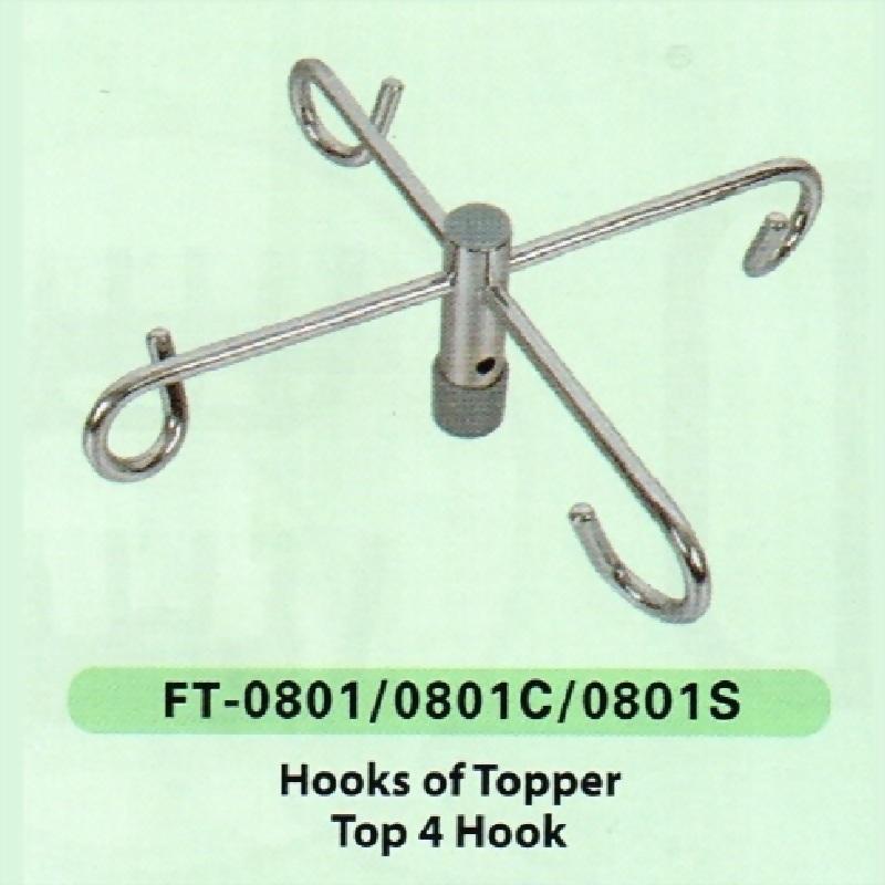 Hooks of Topper, Top 4 Hooks