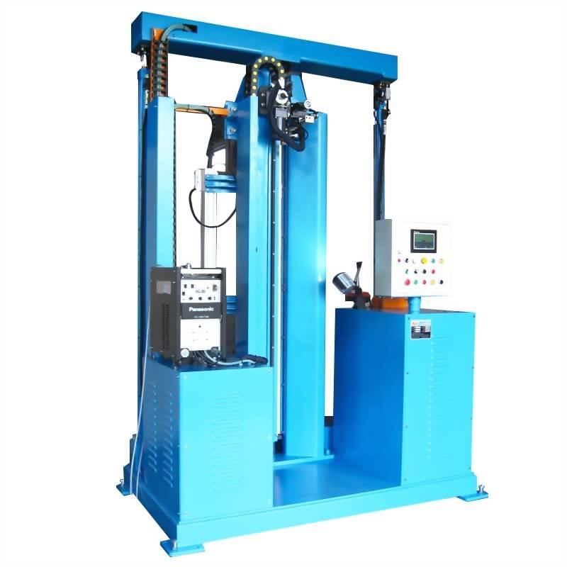 立式直線焊接(焊大直徑風管)