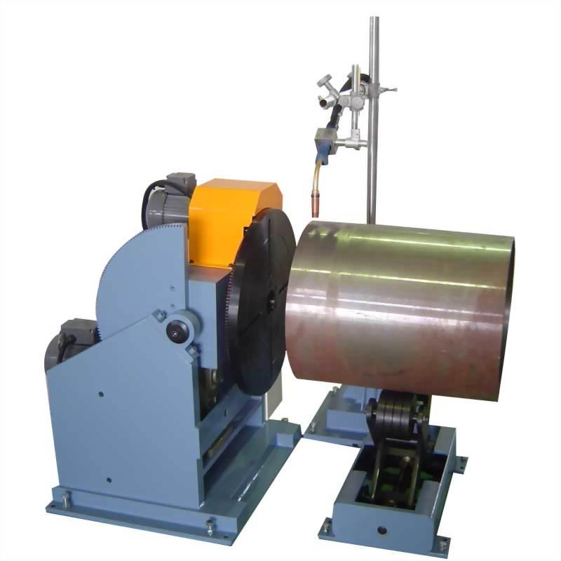焊接轉盤附交叉式扶持輪