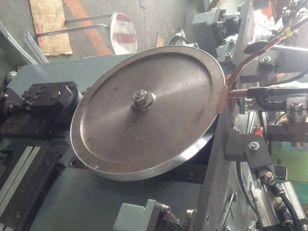 自動捲圓填料焊接