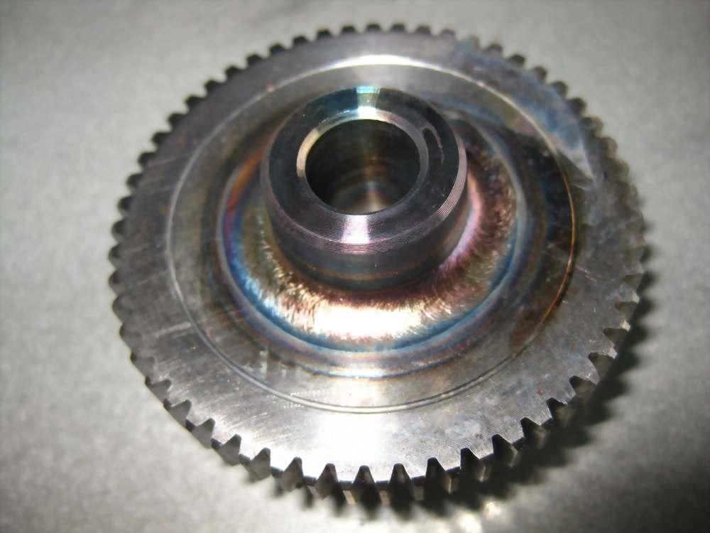 左右模電離子附填料(焊齒輪)