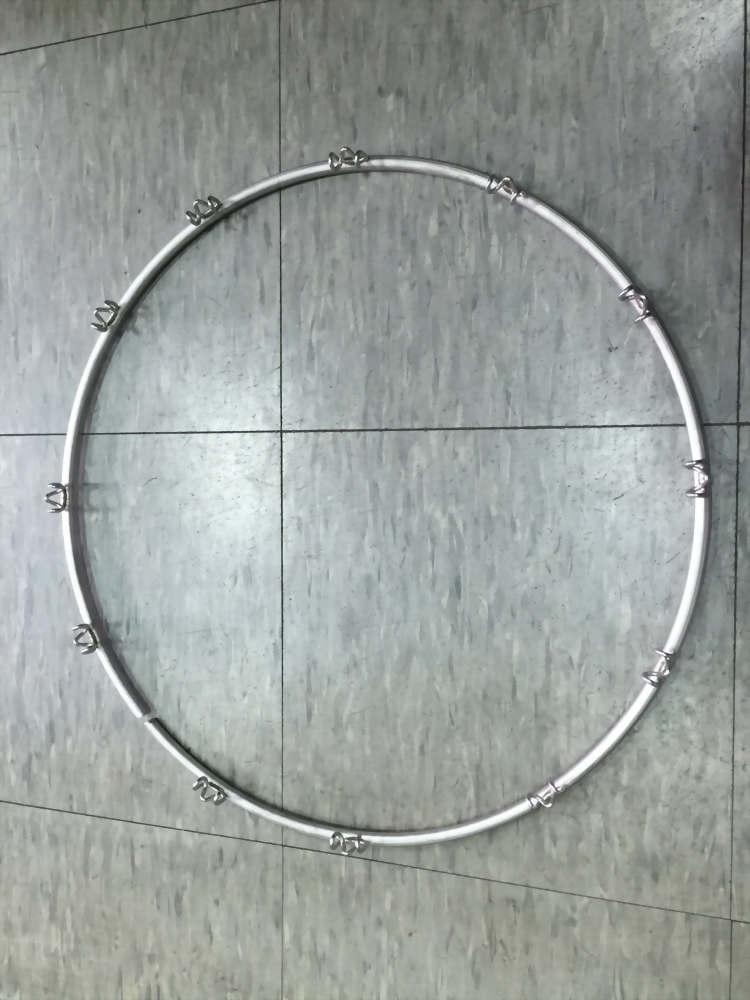 伺服定位點焊(焊籃球框)