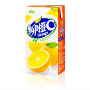 黑松 柳橙C 300CC 24入