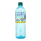 台鹽 鹼性離子水 600cc 24入