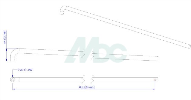 Commercial Aluminum Push and Pull Handles