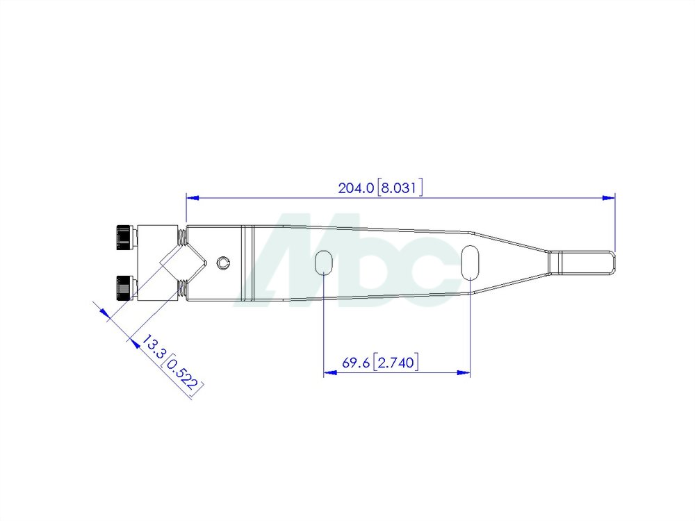 End Load Arm Assembly - Diamond Type