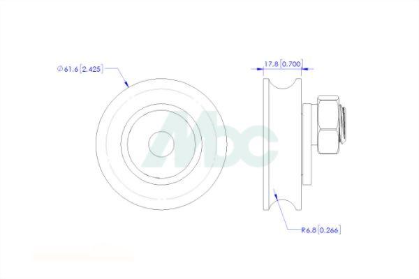 Polyurethane (PU) Wheel 1