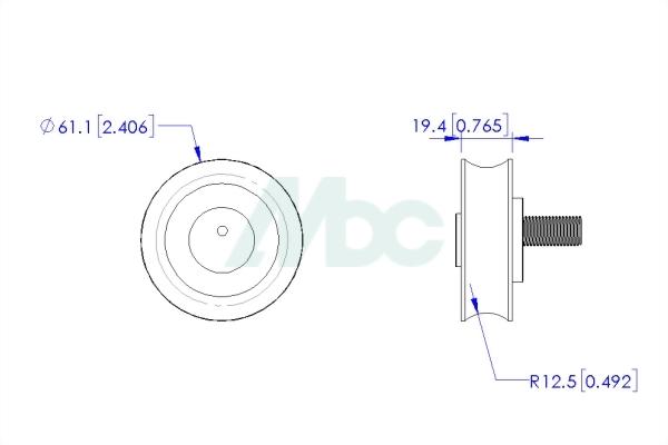 Polyurethane (PU) Wheel 2
