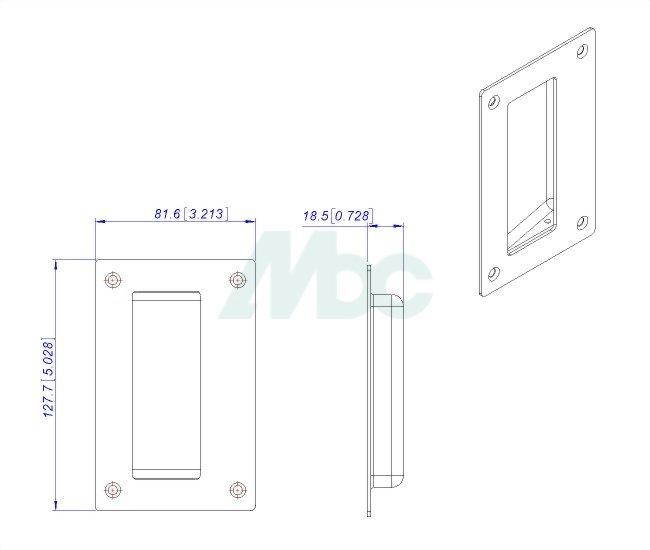 Stainless Steel Pocket Pull