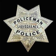 Police Badge PE006