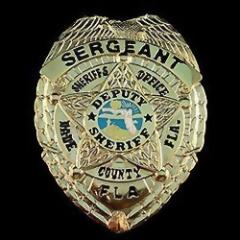 Police Badge PE007