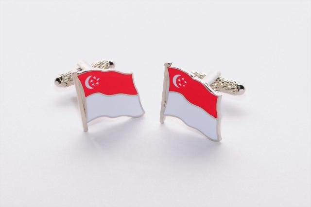 singapore Cufflink