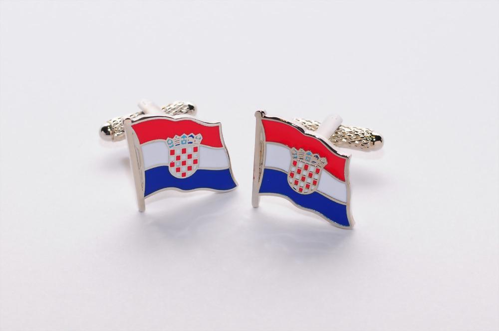 croatia Cufflink