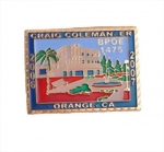 Photo Etching Lapel Pins