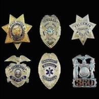 Police Badge PB001