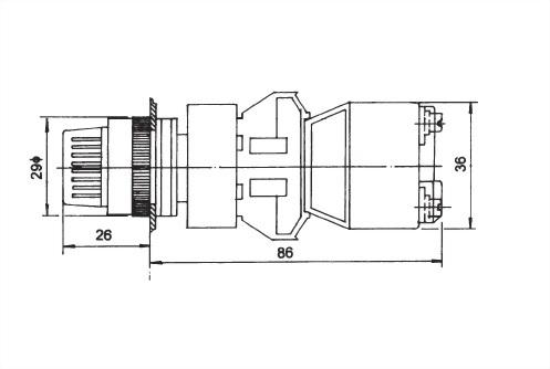 Illuminated Selector Switches TUSS22-2O