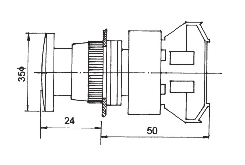 Pushbutton Switches AEPB22-1OC