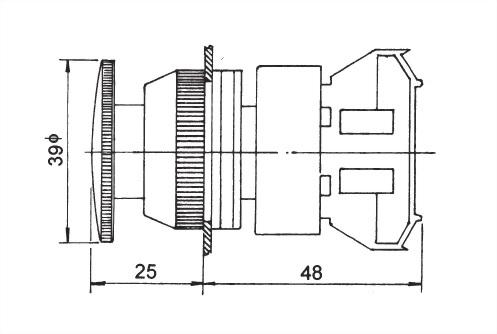 按鈕開關 AEPB30-1C