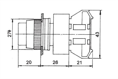 Pushbutton Switches APBL22-1C