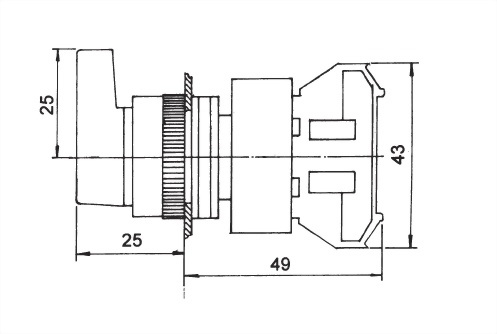 Selector Switches ALSS25-1OC