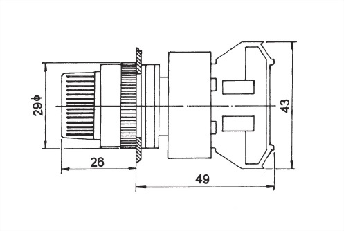 Selector Switches AUSS22-2O