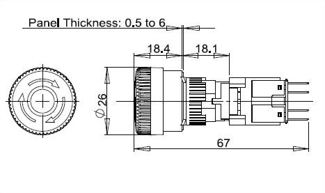 Not-Aus-Schalter A16LMS