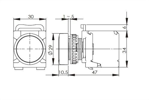 Illuminated Pushbutton Switches A2MRPFL11