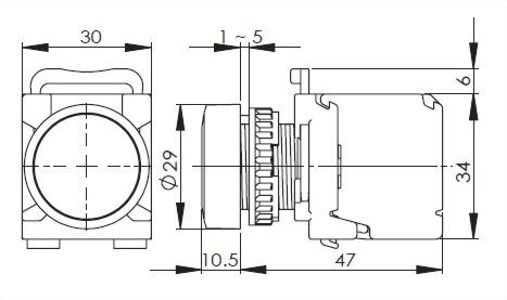 Pushbutton Switches A2MRPF