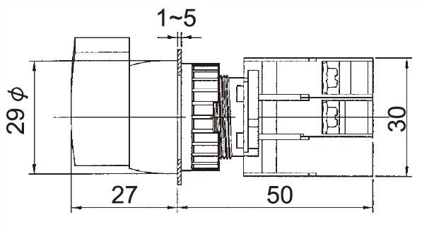照光選擇開關 GLSL22-1O
