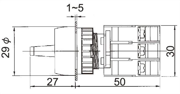 照光選擇開關 GLSL22-2O