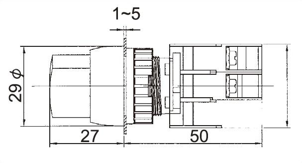 Illuminated Selector Switches SRL22-1O