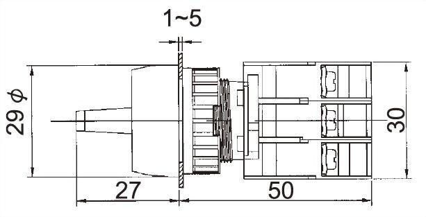 Illuminated Selector Switches SRL22-2O