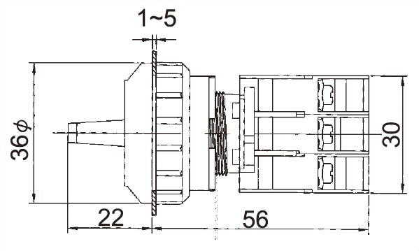 Illuminated Selector Switches SRL30-2O