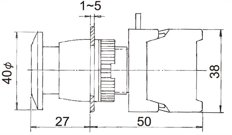 Pushbutton Switches GEB22-1OC