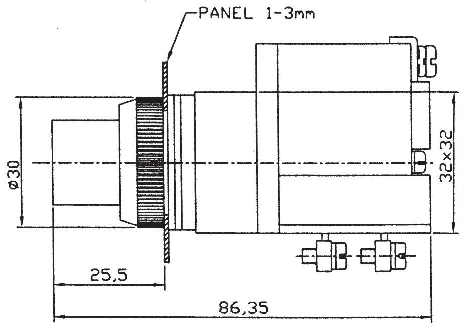 Illuminated Pushbutton Switches LPBTG2511