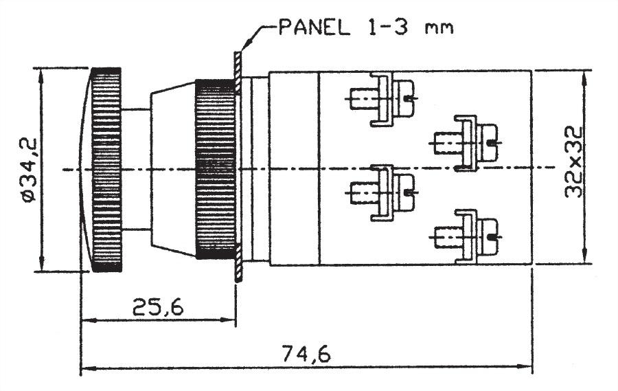 Pushbutton Switches EPB2511