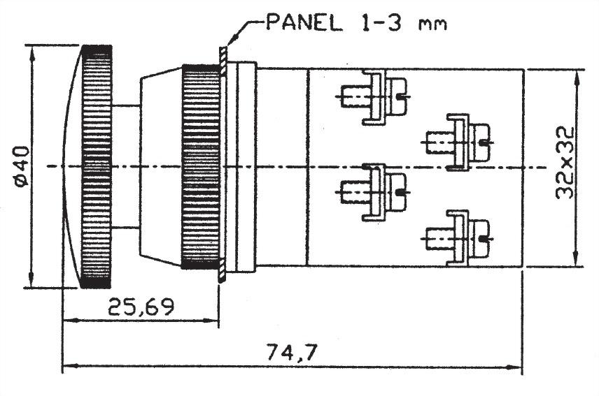 Pushbutton Switches EPB3011