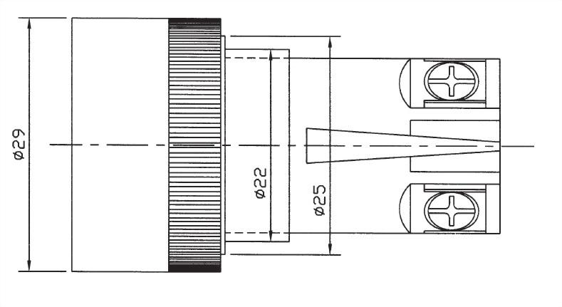 Pushbutton Switches PB22-1B