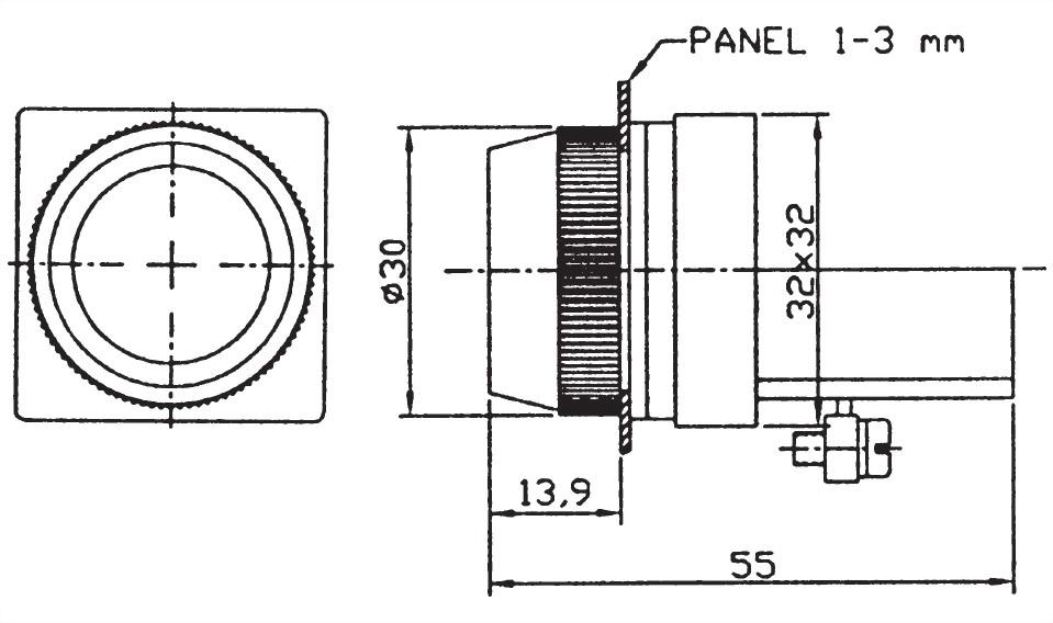 按鈕開關 PB25-1B