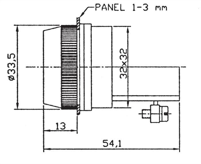 按鈕開關 PB30-1A