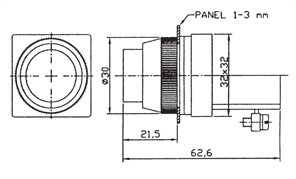 按鈕開關 PBL25-1A