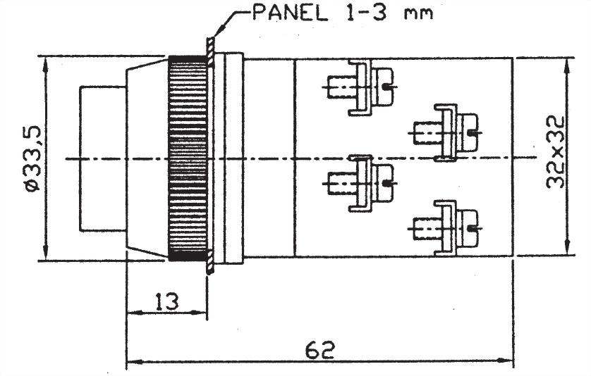 Pushbutton Switches PBL3011