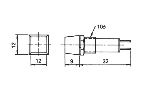 10mm Panel Indicating Lamp PL1001