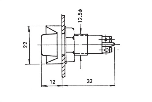 面板指示燈 12mm NPL-12
