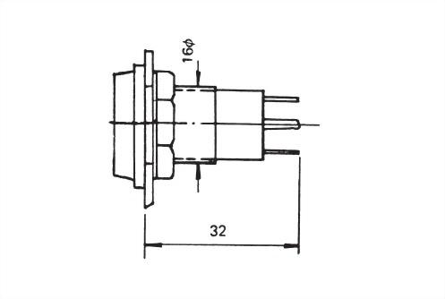 面板指示燈16毫米 PL-1605